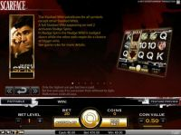 Scarface Slot Bonus 1