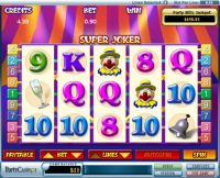 Super Joker Slot Slot Reels