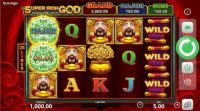 Super Rich God: Hold and Win Booongo Slot Slot Reels