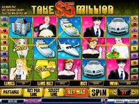 Take 5 Million Dollars Slot Slot Reels