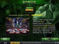 The Incredible Hulk Slot Bonus 1