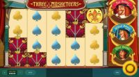 Three Musketeers  Red Tiger Gaming  Slot  Slot Reels