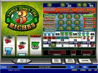 Three Times the Riches Slot Slot Reels