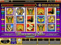 Treasure Nile Slot Slot Reels