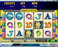 Treasures of the Deep Slot Slot Reels
