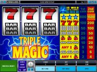 Triple Magic Mini Slot Slot Reels