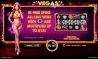 Vegas Nights Slot Info