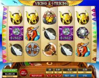 Viking and Striking Slot Slot Reels