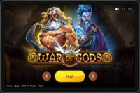 War of Gods Red Tiger Gaming Slot Info
