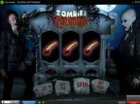 Zombies and Vampires Slot Slot Reels