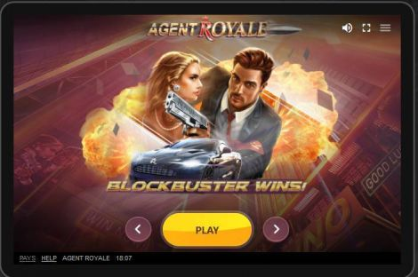 Agent Royale Red Tiger Gaming Slot Info