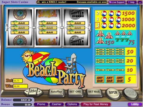 Beach Party Slot Slot Reels