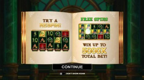 Book of Oz Microgaming Slot Bonus 1