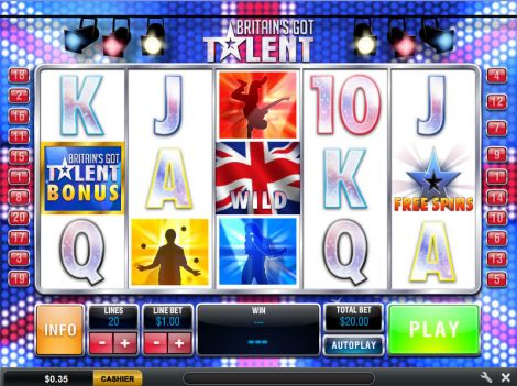 Britain's Got Talent Slot Main