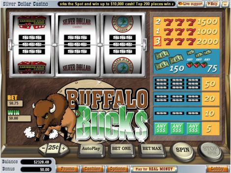 Buffalo Bucks Slot Slot Reels