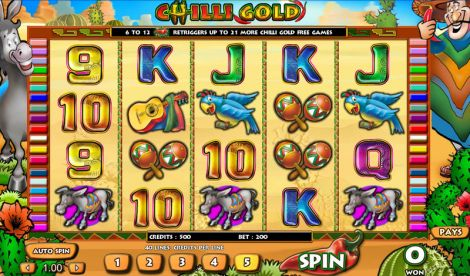 Chilli Gold Slot Slot Reels