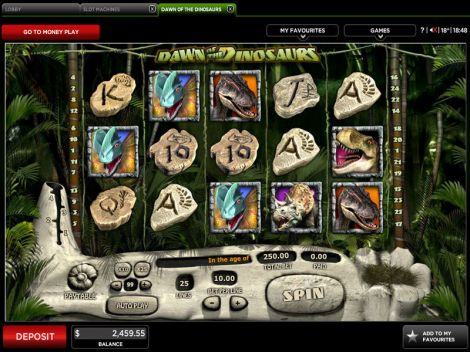 Dawn of the Dinosaurs Slot Slot Reels