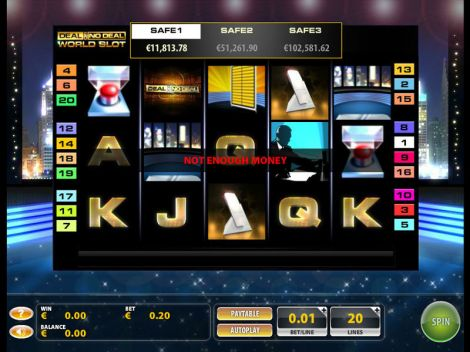 Deal or No Deal World Slot Slot Reels