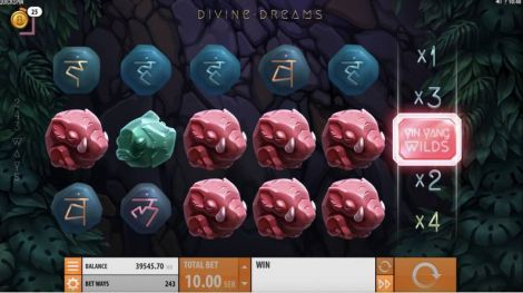 Divine Dreams Quickspin Slot Slot Reels