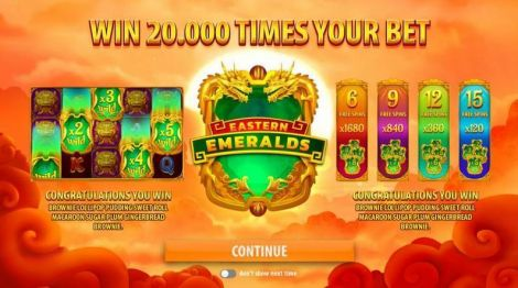 Eastern Emeralds Slot Info