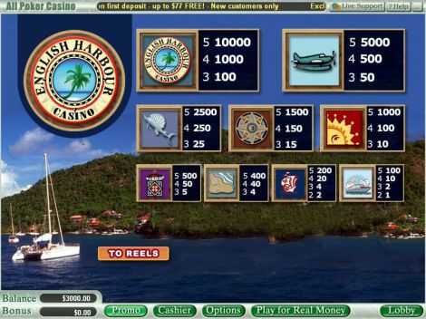 English Harbour Slot Info