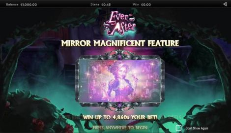 Ever After Slot Info
