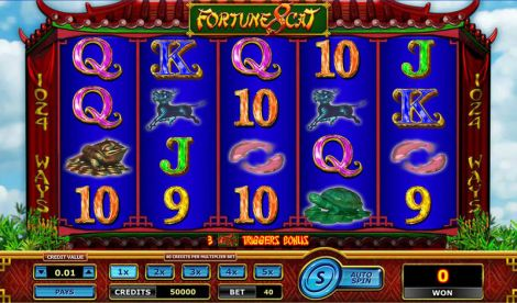 Fortune 8 Cat Slot Slot Reels