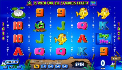 Frogs 'n Flies Slot Slot Reels