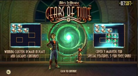 Gears of Time BetSoft Slot Info
