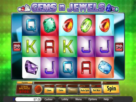 Gems n Jewels Slot Slot Reels