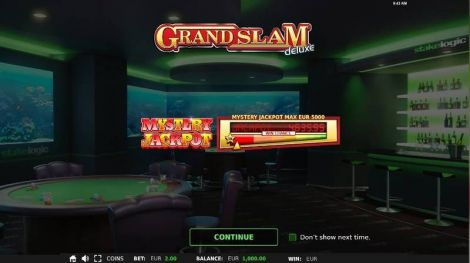 Grand Slam Deluxe StakeLogic Slot Info