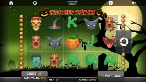 Halloween Horrors Slot Slot Reels