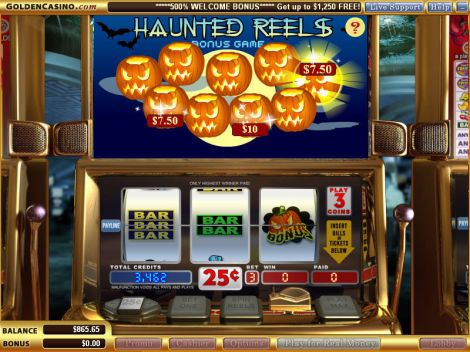 Haunted Reels Slot Bonus 1