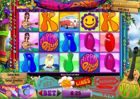 Hippy Days Slot Slot Reels