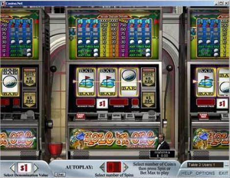 Hole in One Slot Slot Reels