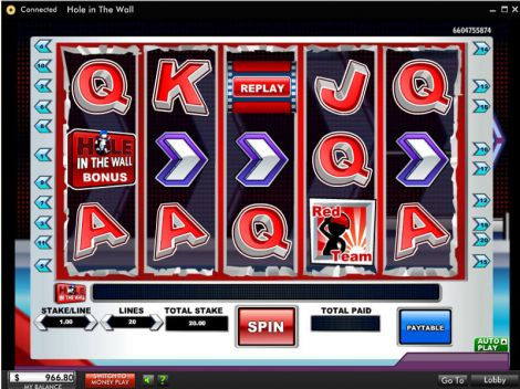 Hole In The Wall Slot Slot Reels