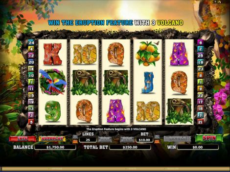 Hot Hot Volcano NextGen Gaming Slot Slot Reels