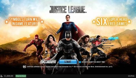 Justice League Slot Info