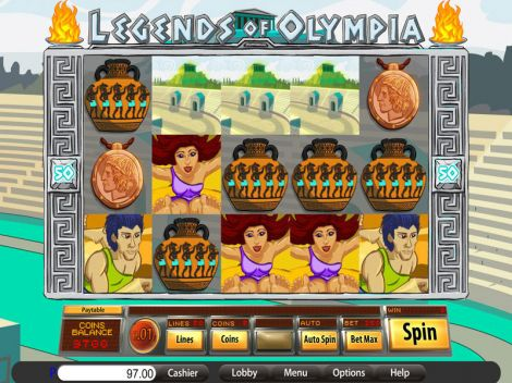 Legends of Olympia Slot Slot Reels