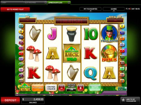 Leprechaun's Luck Slot Slot Reels