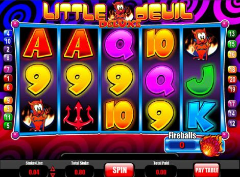 Little Devil Deluxe Slot Slot Reels