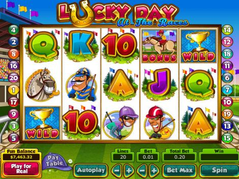 Lucky Day at the Races Slot Slot Reels