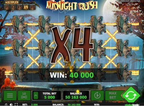 Midnight Rush Slot Slot Reels