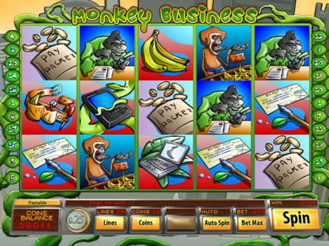 Monkey Business Slot Slot Reels