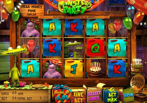 Monsters Party Slot Slot Reels