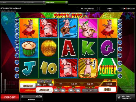 Party Pigs Slot Slot Reels