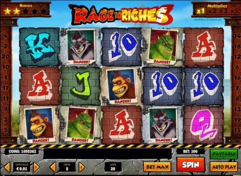 Rage to Riches Slot Slot Reels