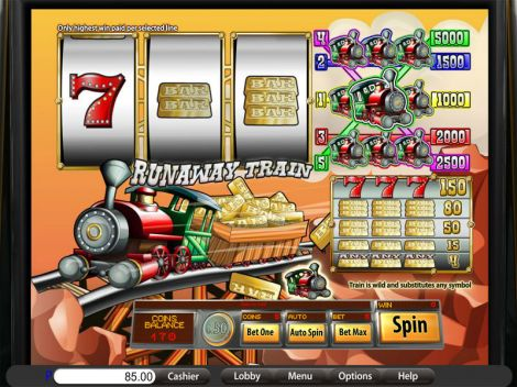 Runaway Train Slot Slot Reels