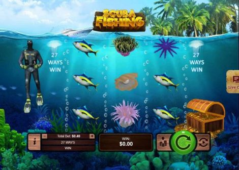 Scuba Fishing Slot Slot Reels