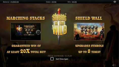 Shields of the Wild Slot Info